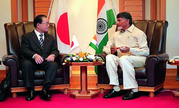 Japan Companies to invest in AP & Participate in Capital Development