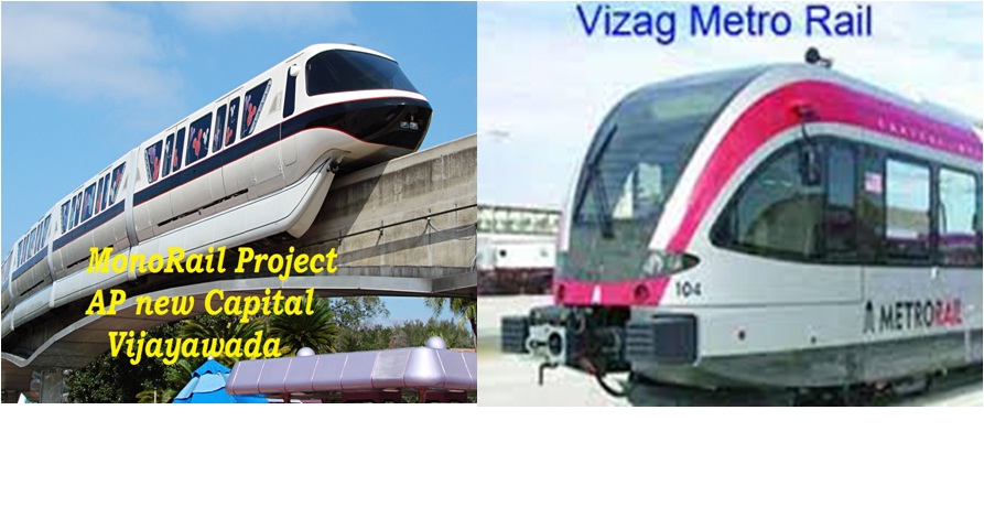 Vijayawada & Vizag Metro project First phase to be completed by 2018