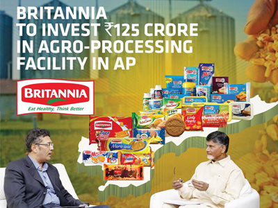 Britannia company planning to set up an agro processing unit in Andhra pradesh