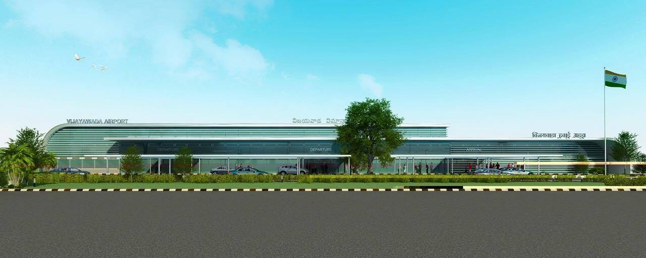 New Terminal construction for vijayawada airport with 137 crores