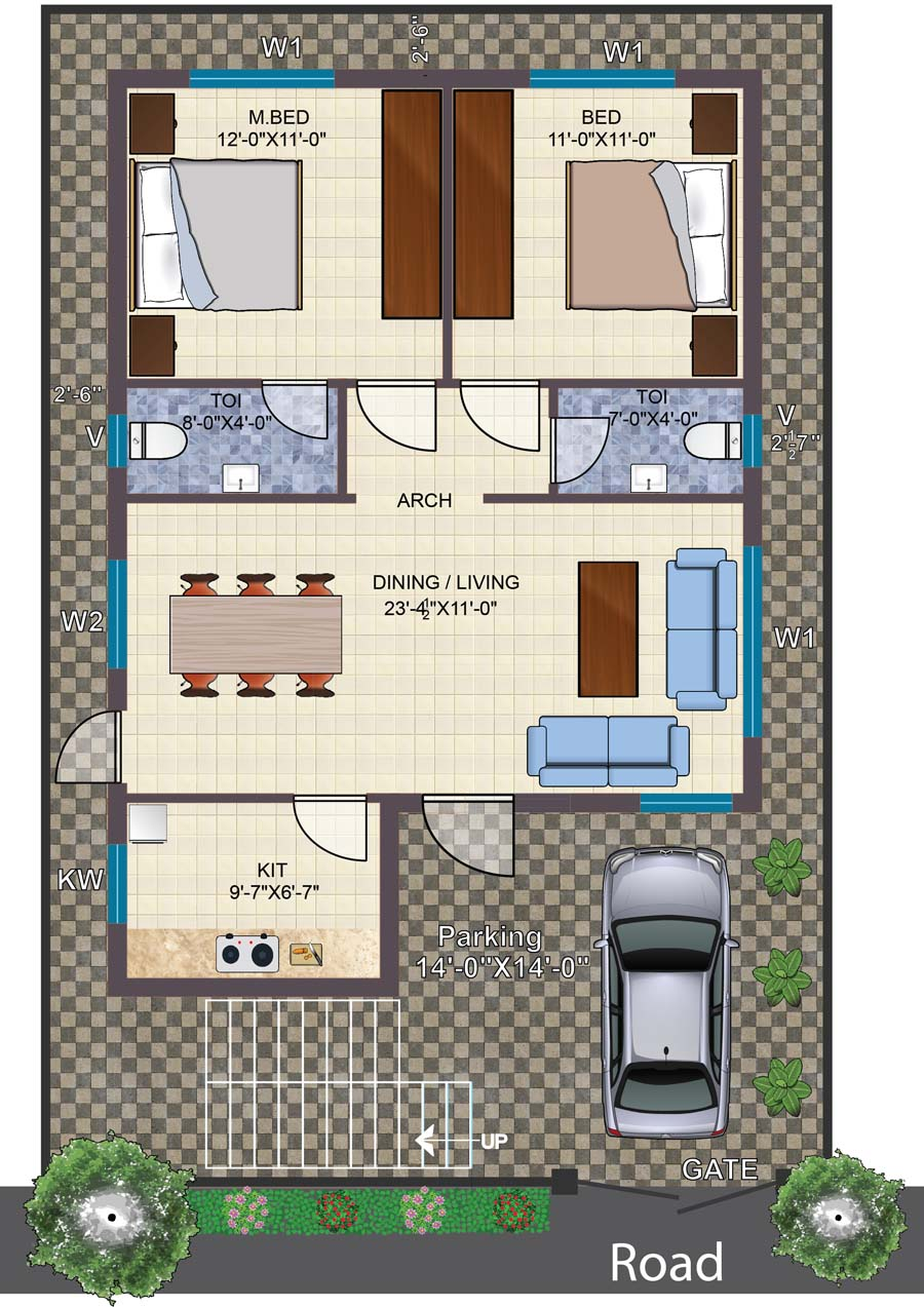 Independent 2BHK