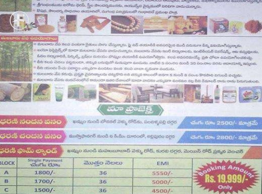 Open Plot at Pandurangapuram Khammam