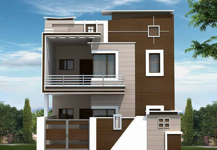 Front Elevation Designs Independent Houses : Independent house for sale buy at bommur rajahmundry