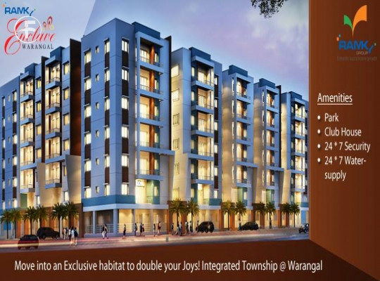 Ramky Enclave Apartments at  Warangal