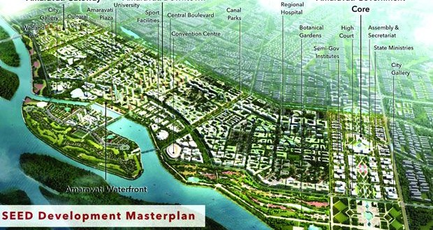 CRDA estimated 53,547 crores budget for Amaravathi capital development in next 10 years