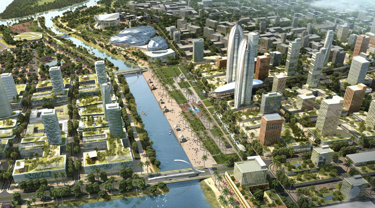 CRDA Decided to build Govt offices in 900 acres for Amaravathi capital